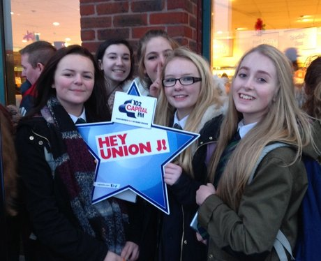 Union J Signing in Warrington