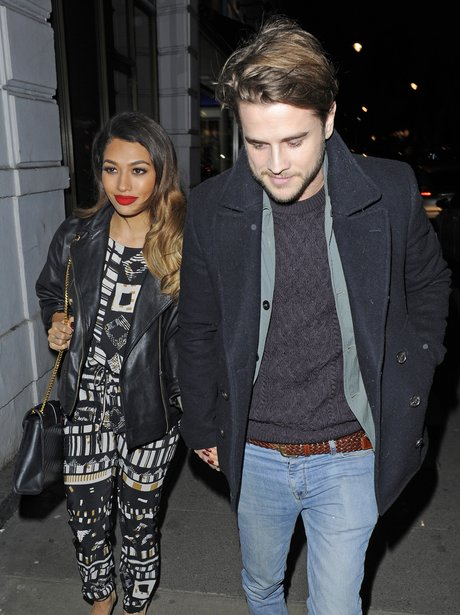 Vanessaw White with her boyfrined garry