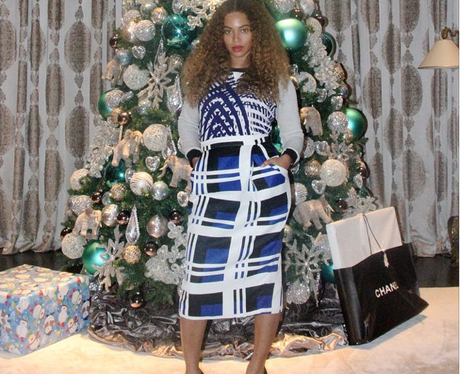Beyonce Christmas Tree Instagram