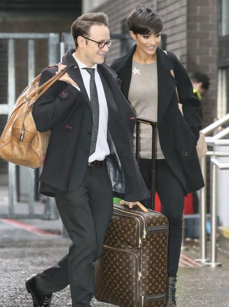 Frankie Sandford and Kevin Cliffton