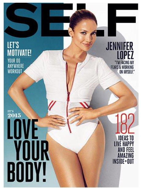 Jennifer Lopez Self Magazine 2014