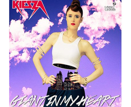 Kiesza Giant In My Heart with border