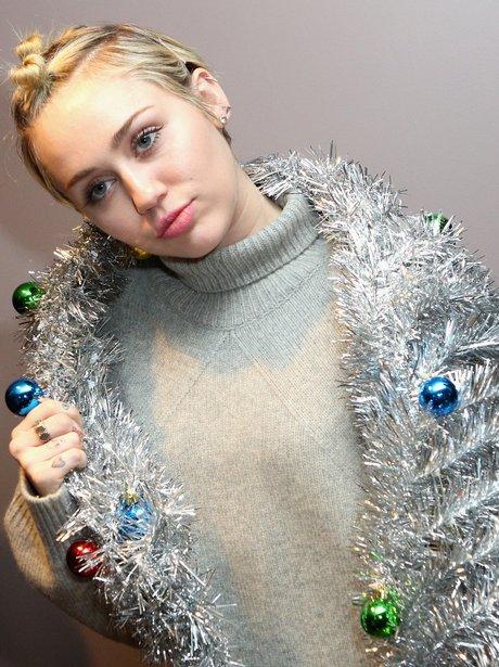 Miley Cyrus Tinsel