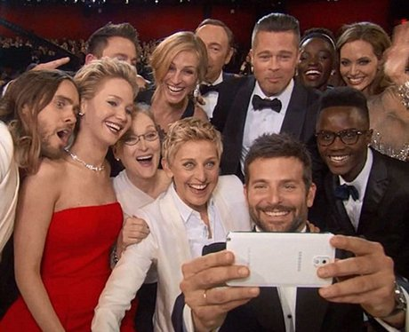 Oscars Selfie Twitter