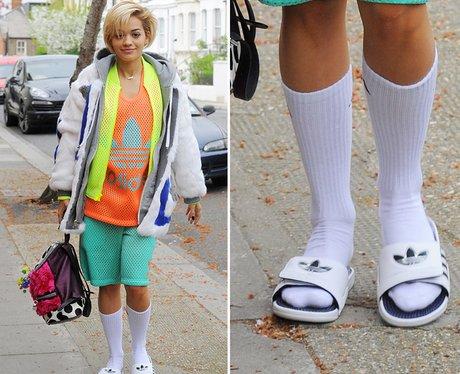 Rita Ora Crazy Outfit