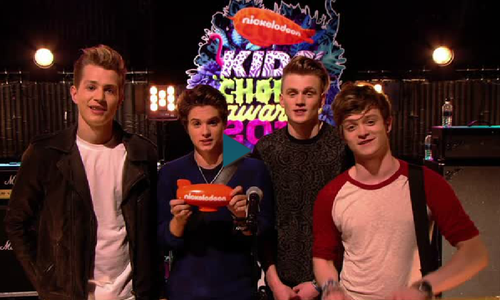 The Vamps Nickelodeon Kids Choice Awards 2014 Winners