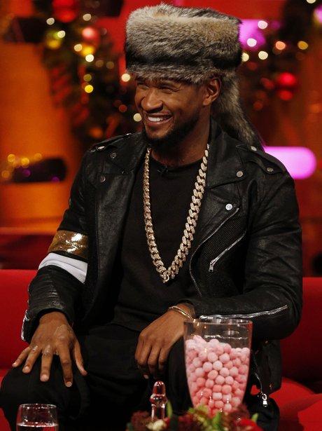 Usher on fimling for grhamam norton