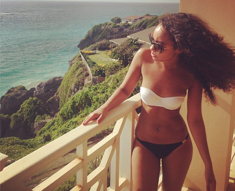 Leigh Anne Pinnock in a bikini