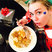 Image 2: Miley Cyrus eating her Christmas dinner