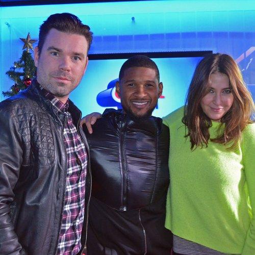 Usher on Capital christmas 2014