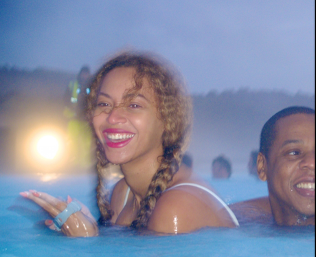 Beyonce and Jay Z  Hot Tub