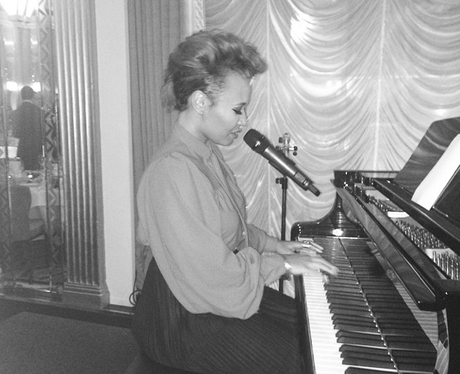 Emeli sande in the studio