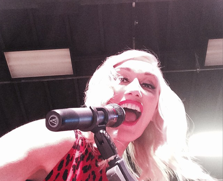 Gwen Stefani Studio Instagram