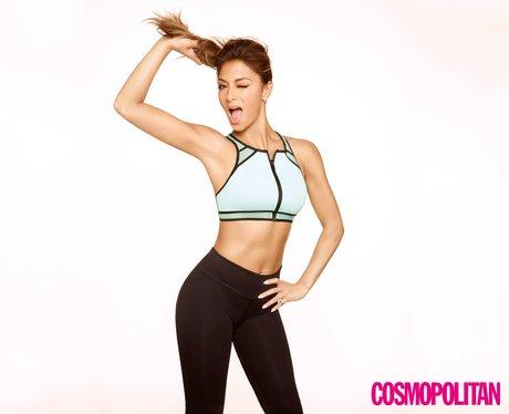 Nicole Scherzinger Cosmopolitan Body 2014