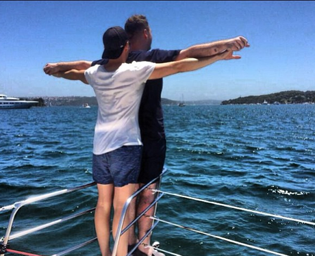 Sam Smith and Boyfriend Titanic