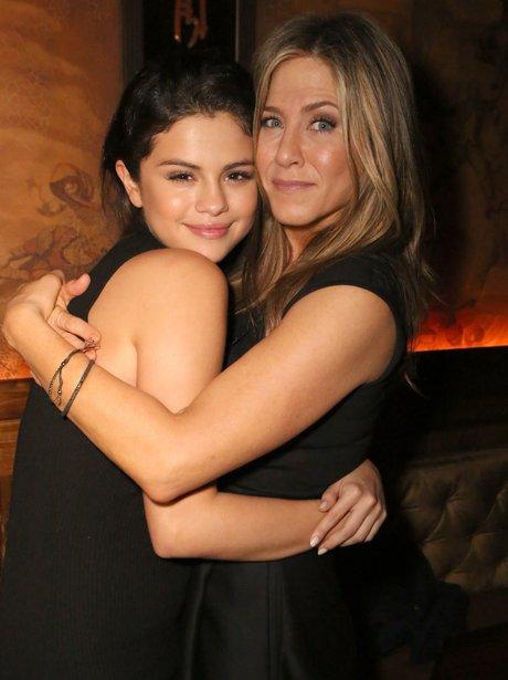 Selena Gomez and Jennifer Aniston