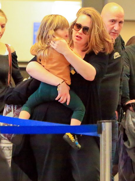 Adele and son Angelo