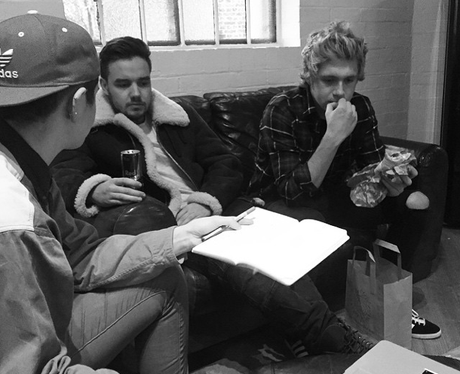 One Direction Rehearsals Instagram