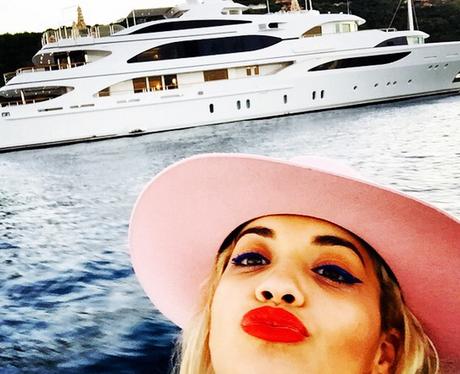 Rita Ora Holiday Instagram