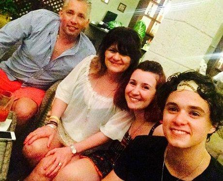 The Vamp's Bradley Simpson Family