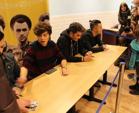 Union J at morrisons