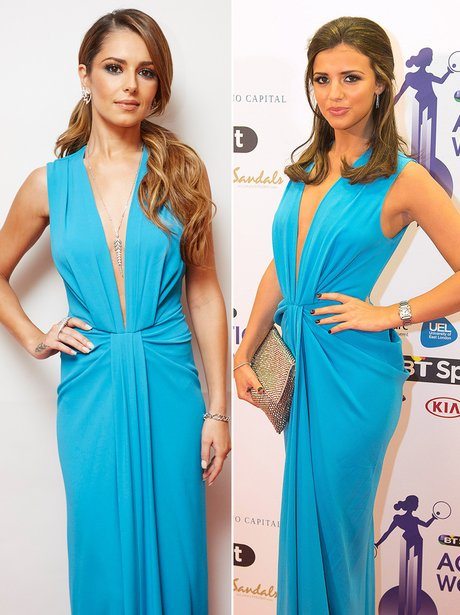 Who Wore It Best: Cheryl Cole and Lucy mecklenburg