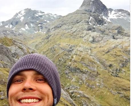 Ashton Irwin Hiking Istagram