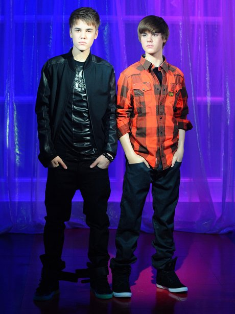 Celebrity Waxworks: Justin Bieber