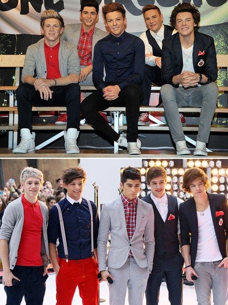 Celebrity Waxworks: One Direction