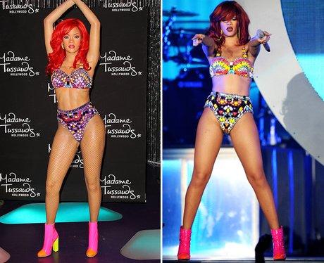 Celebrity Waxworks: Rihanna