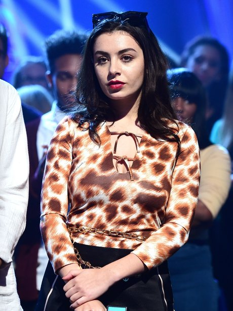 Charli XCX at the BRIT nominations 2015