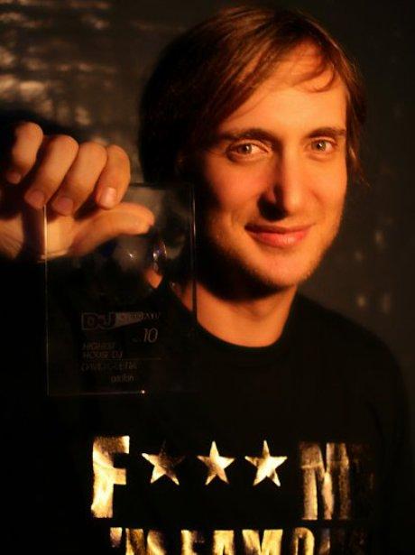 David Guetta First Facebook Picture