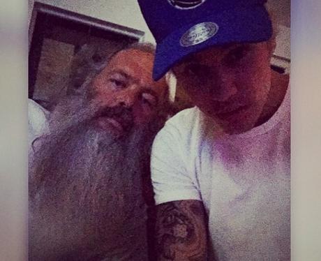 Justin Bieber and Rick Rubin Instagram