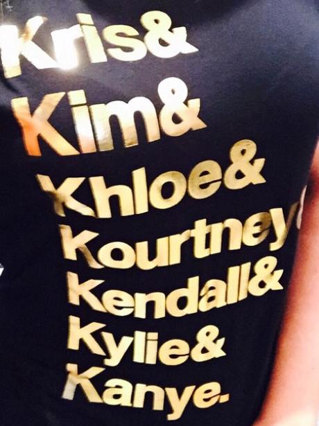 Khloe Kardashian Personalised T Shirt