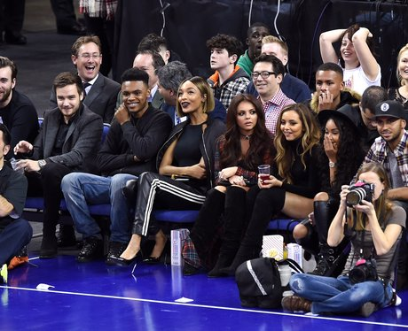 Little Mix and Liam Payne Basketball