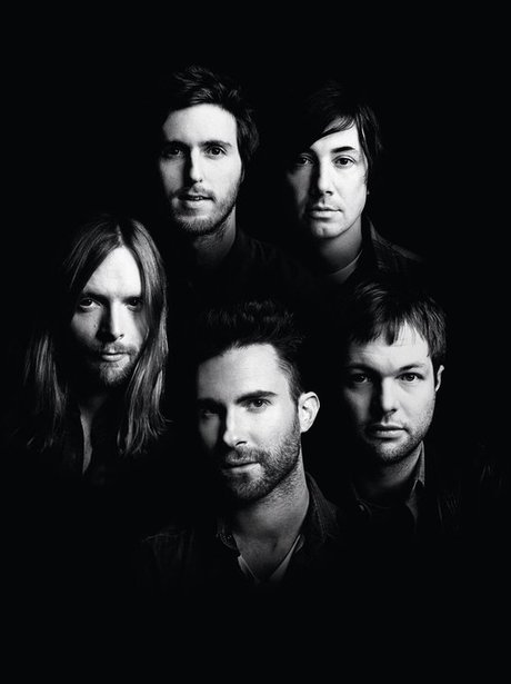 Maroon 5 First Facebook Pictures 1