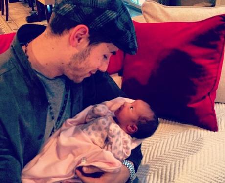 Nick Jonas and Niece Instagram