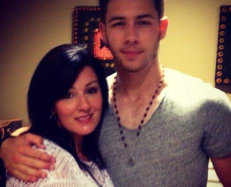 Nick JOnas and mum