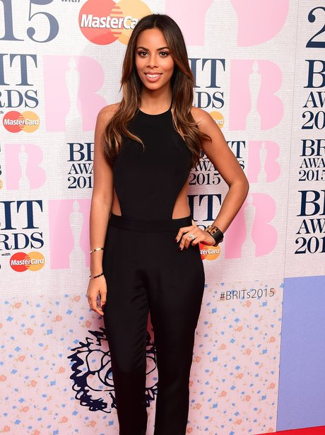 Rochelle Humes BRIT Awards 2015 Nominations Party