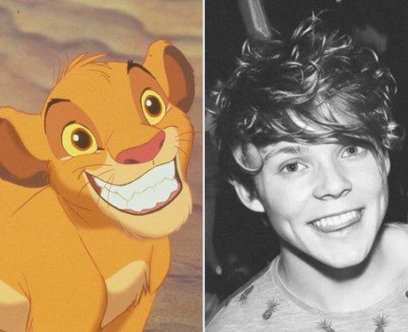 Ashton as Simba