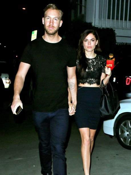 Calvin Harris and Girlfriend