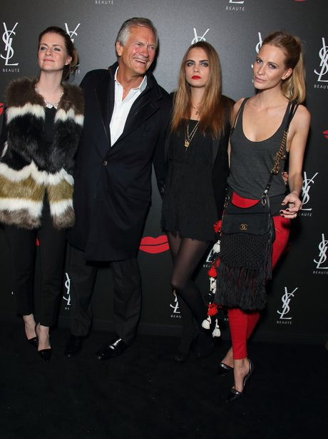 Cara Delevingne and Family