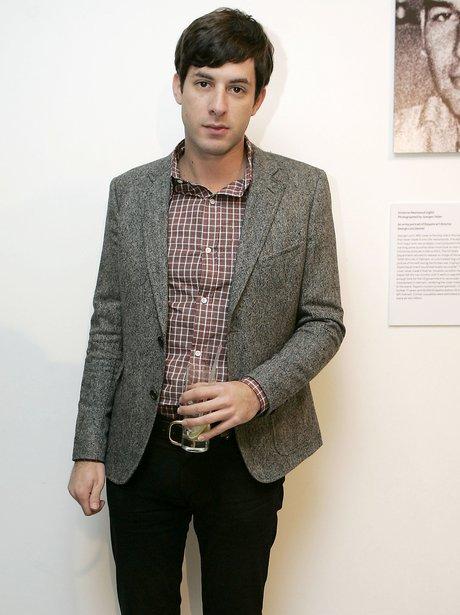 Mark Ronson tweed jacket