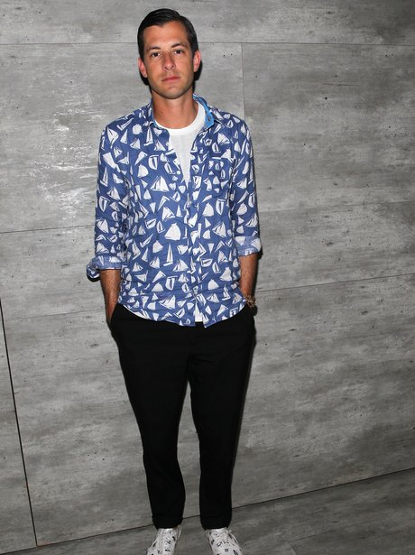 Mark Ronson Patterned Shirt