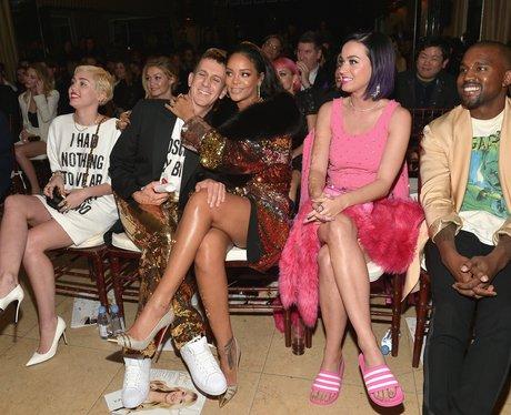 Miley Cyrus, Jeremy Scott, Rihanna, Katy Perry and
