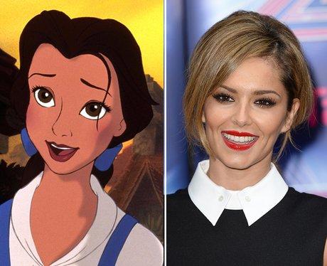 Pop Stars Who Look Like Disney Characters