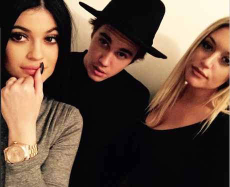 Justin Bieber, Kendall Jenner and Hayley Baldwin