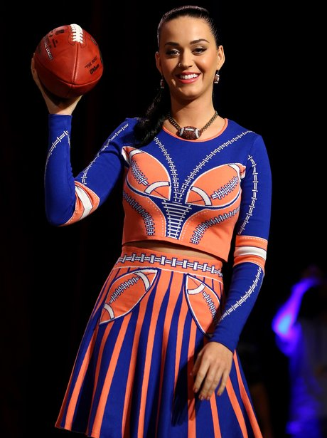 Katy Perry Super Bowl Press Conference