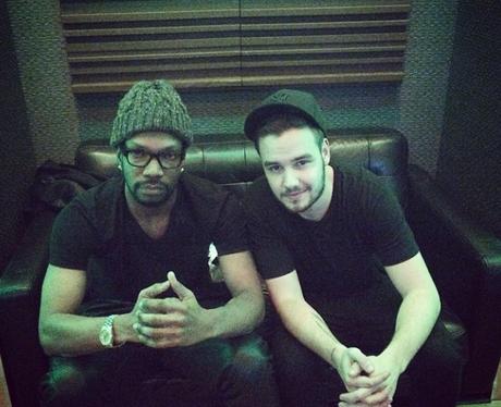 Liam Payne Juicy J studio instagram