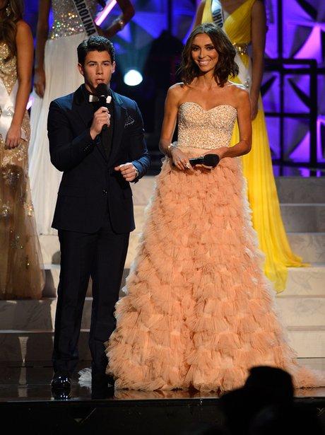 Nick Jonas Miss USA 2013